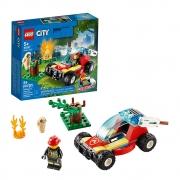 LEGO City Floresta em Chamas 60247 - 84 Peças