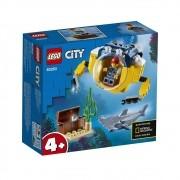LEGO City - Mini Submarino Oceânico - 60263 - 41 Peças