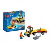 LEGO City - Off Road de Resgate na Praia - 60286 - 79 Peças