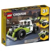 LEGO Creator Caminhão Foguete 3 em 1 - 198 Peças - 31103