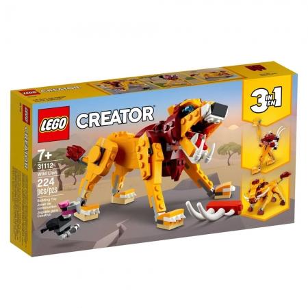 LEGO Creator Leão Selvagem - 31112 - 224 peças