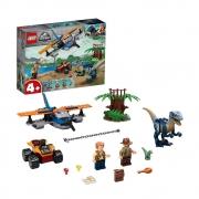LEGO Jurassic World - Velociraptor: Missão de Resgate com Biplano - 75942  101 Peças