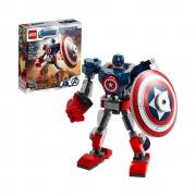 LEGO Marvel Avengers Armadura Robô do Capitão América - 76168 - 121 Peças
