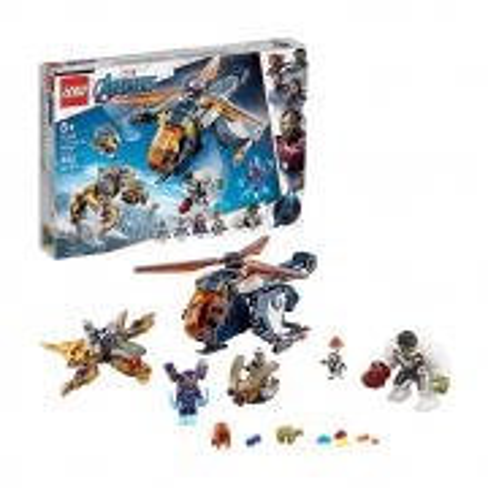 Lego Marvel Avengers Hulk Helicopter Rescue - Lego 76144 - 482 Peças