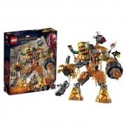 LEGO Marvel Super Heroes Spider Man - Batalha contra o Monstro de Fogo - 76128 - 294 Peças