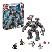 Lego Marvel Vingadores Maquina De Guerra Destruidora - LEGO 76124 - 362 Peças