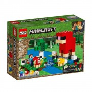 Lego Minecraft a Fazenda de Lã - 21153 - 260 peças