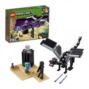 Lego Minecraft Combate do Fim Dragão Ender Dragon - 21151 - 222 Peças