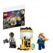 LEGO Super Heroes Capitã Marvel e Nick Fury - 30453 - 32 Peças