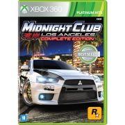 Midnight Club Los Angeles (Complete Edition) - Xbox 360