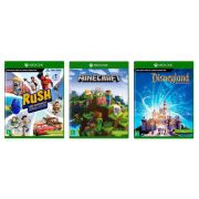 Minecraft + Rush + Disneyland - Xbox One