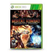Mortal Kombat 9 Komplete Edition - Xbox 360