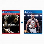 Mortal Kombat X + UFC 3 - PS4