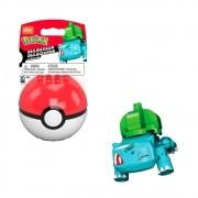 Pokemon Bulbasaur Pokebola - Mega Construx - Mattel GKY72
