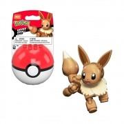 Pokemon Eevee Pokebola - Mega Construx - Mattel GKY74