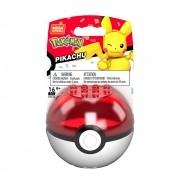 Pokemon Pikachu Pokebola - Mega Construx - Mattel GVK60