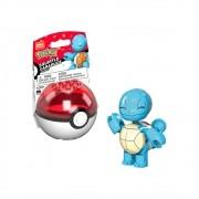 Pokemon Squirtle Pokebola - Mega Construx - Mattel GVK63