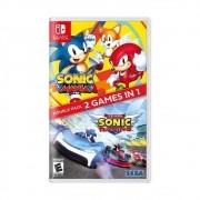 Sonic Mania + Team Sonic Racing - Nintendo Switch - 2 em 1