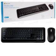 Teclado e Mouse Wireless 850 - Microsoft