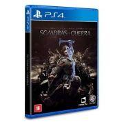 Terra Media Sombras Da Guerra - PS4