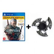 Combo The Witcher 3 Wild Hunt: Complete Edition - PS4 + Hand Spinner Prata Velha