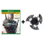 Combo The Witcher 3 Wild Hunt: Complete Edition - Xbox One + Hand Spinner Prata Velha