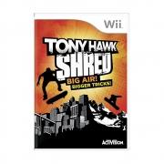 Tony Hawk Shred Big Air Bigger Tricks - Wii - USADO
