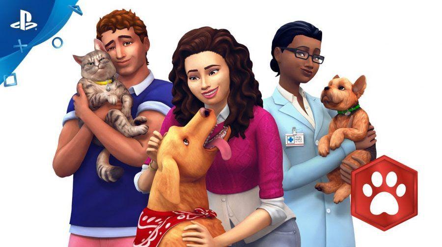Bundle The Sims 4 + Gatos e Cães  - PS4