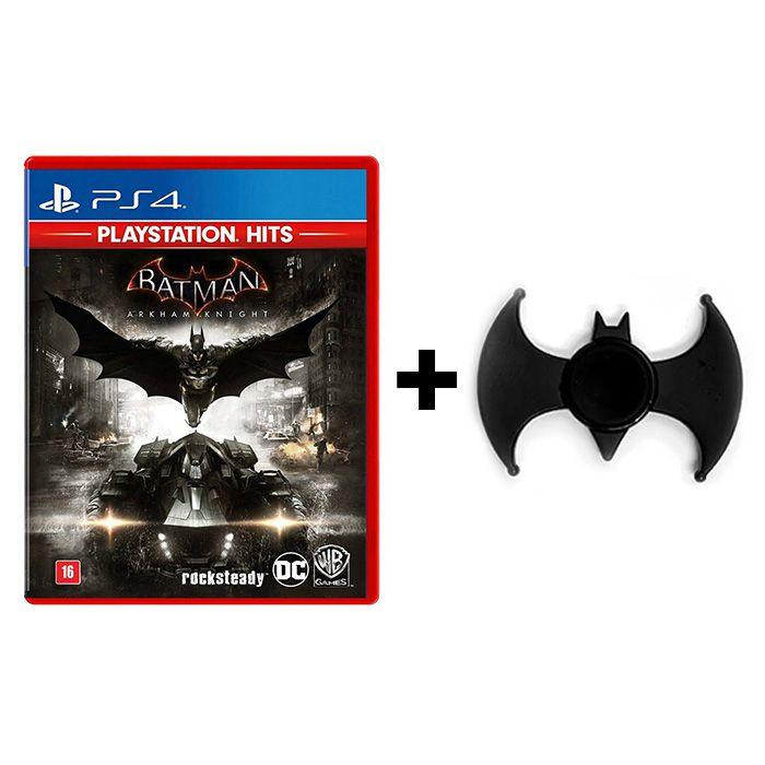 Combo Batman Arkham Knight - PS4 + Hand Spinner Batman