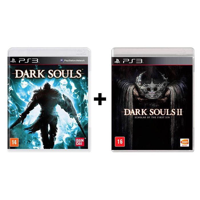 Combo Dark Souls 1 + Dark Souls 2 Scholar of the First Sin - PS3