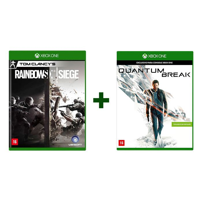 Combo Tom Clancys Rainbow Six Siege + Quantum Break- Xbox One