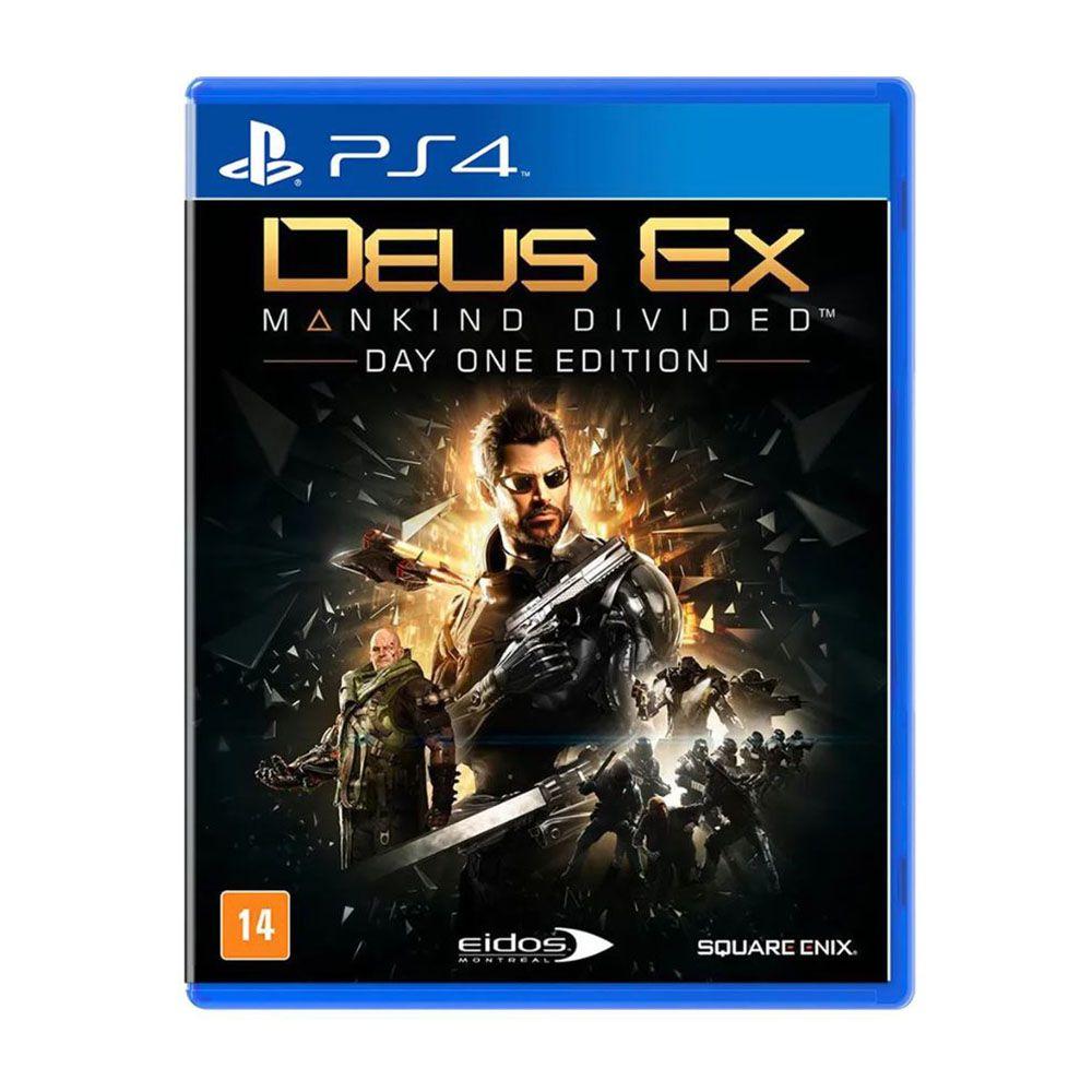 Deus Ex Mankind Divided Edição Day One - PS4