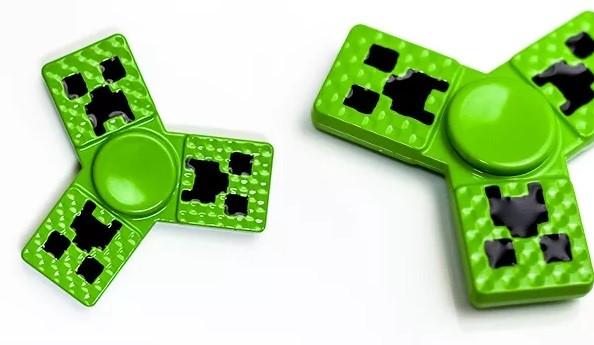 Hand Spinner - Minecraft