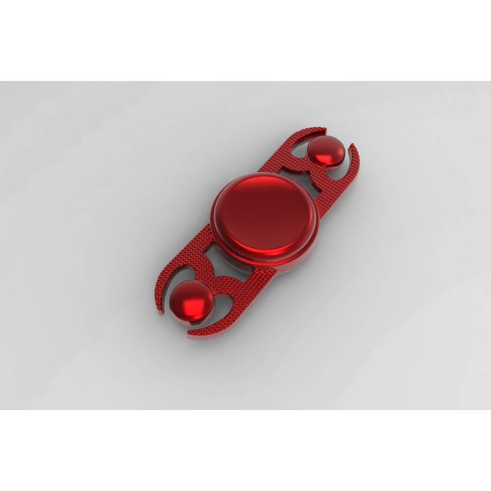 Hand Spinner - Vermelho