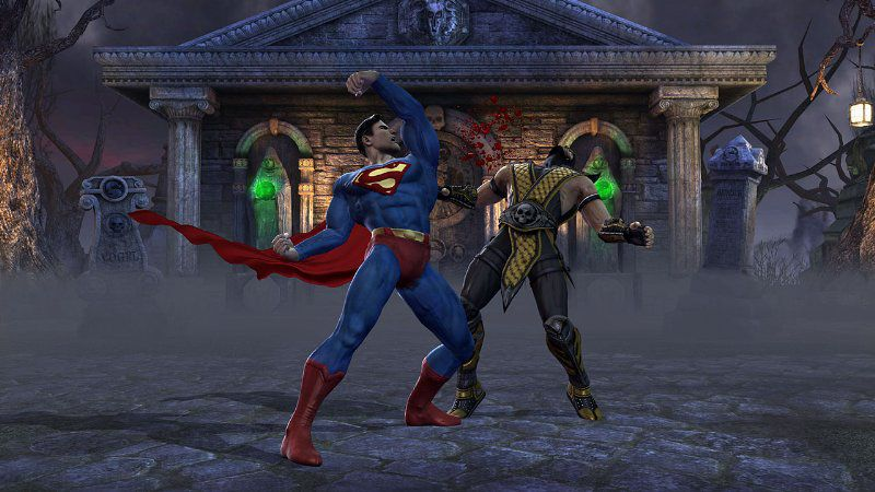 Mortal Kombat vs DC Universe - Xbox 360
