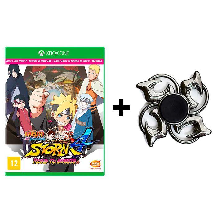 Naruto Shippuden Ultimate Ninja Storm 4 Road To Boruto - Xbox One + Hand Spinner