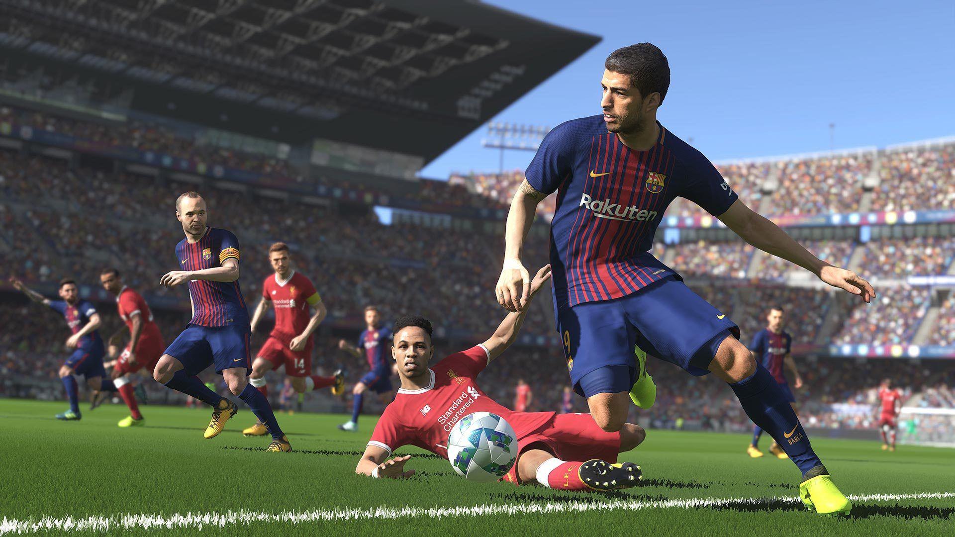 Pro Evolution Soccer 2019 - Pes 19 - Ps4 - Konami - FL SHOP - Games