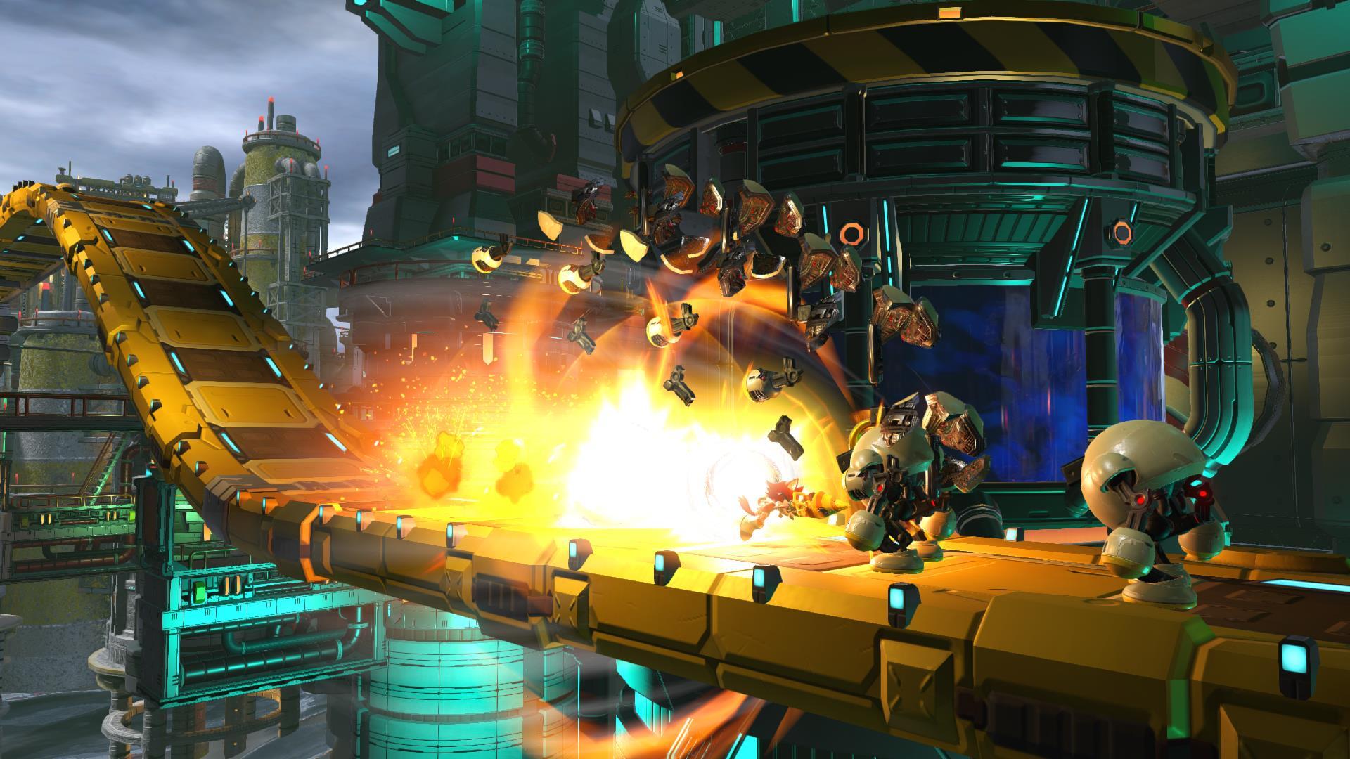 Sonic Forces - PS4 - Sega - FL SHOP - Games em um só lugar
