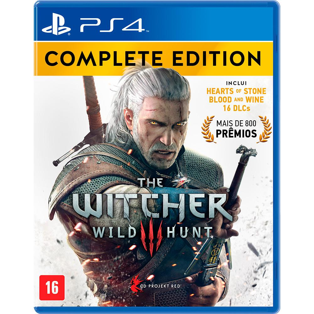 The Witcher 3 Wild Hunt: Complete Edition - PS4