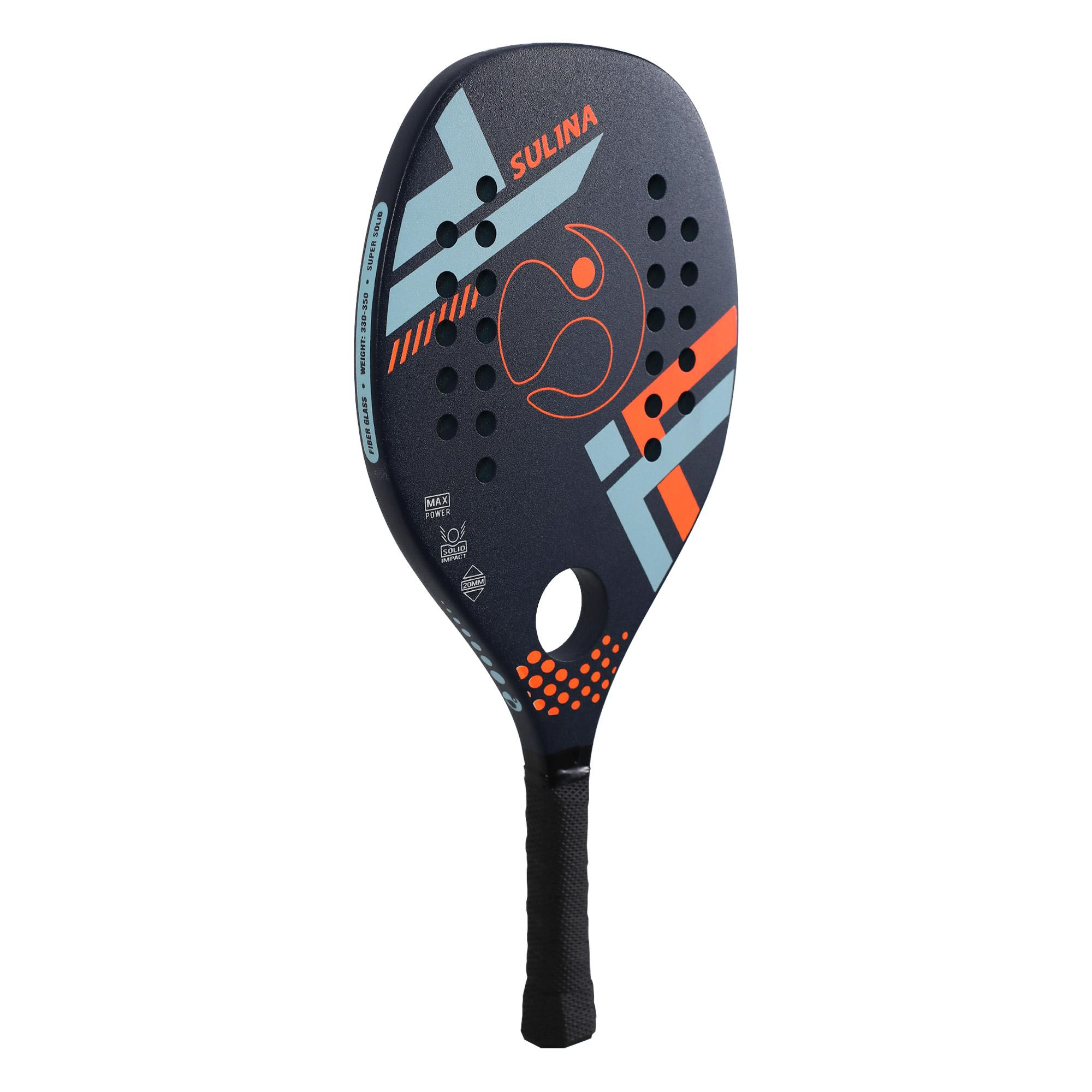 Raquete De Beach Tennis - Sulina Quadrus Azul