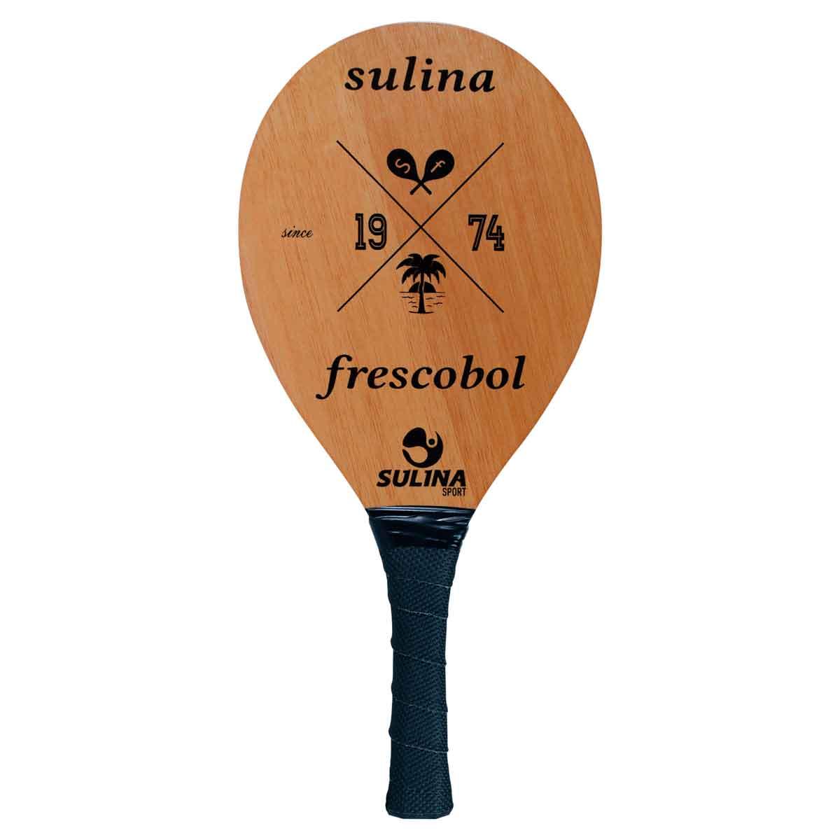 Raquete De Frescobol Profissional Sulina Natural Classic