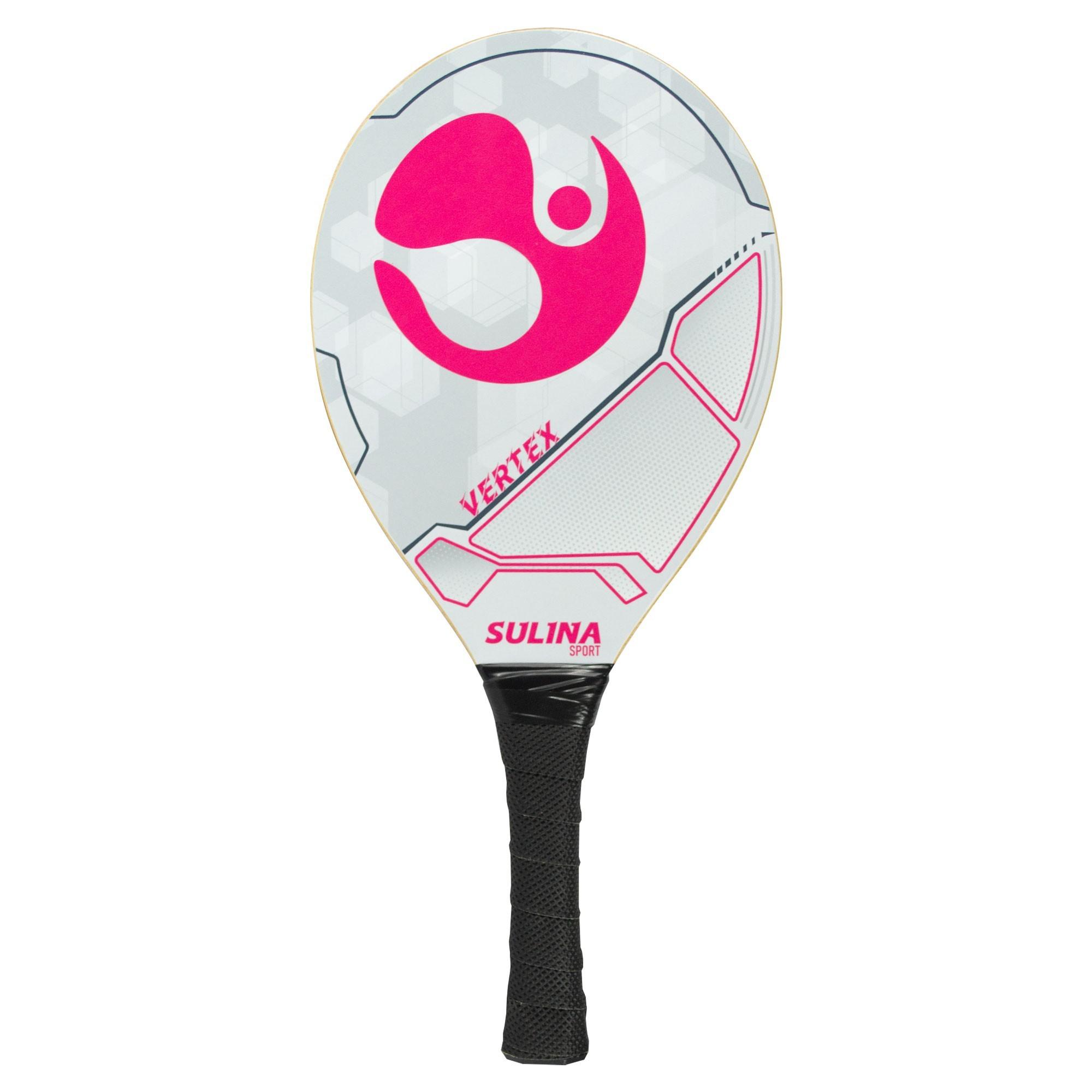 Raquete De Frescobol Profissional Sulina Vertex Pink
