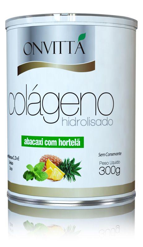 Colágeno sabor Abacaxi com Hortelã