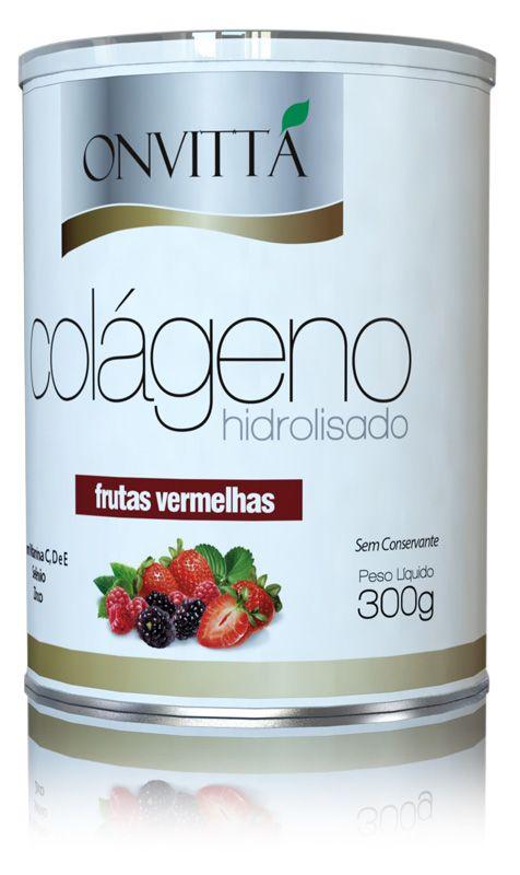 Colágeno Sabor Frutas Vermelhas