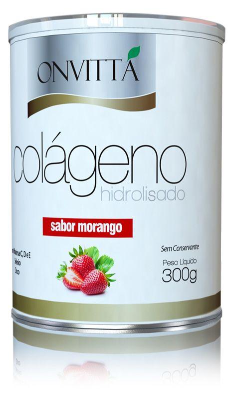 Colágeno Sabor Morango