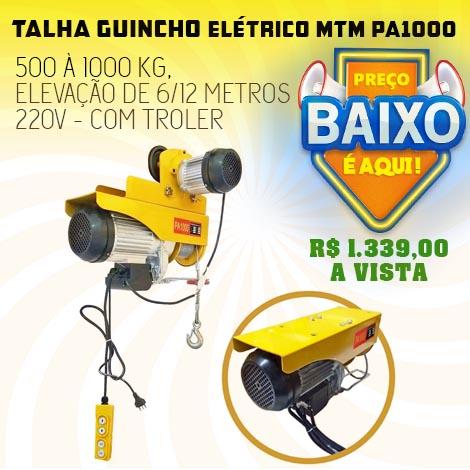Promoção Guincho Talha PA1000