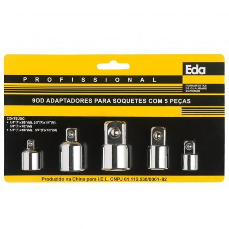 Adaptadores Para Soquetes 5Pçs - 9OD EDA