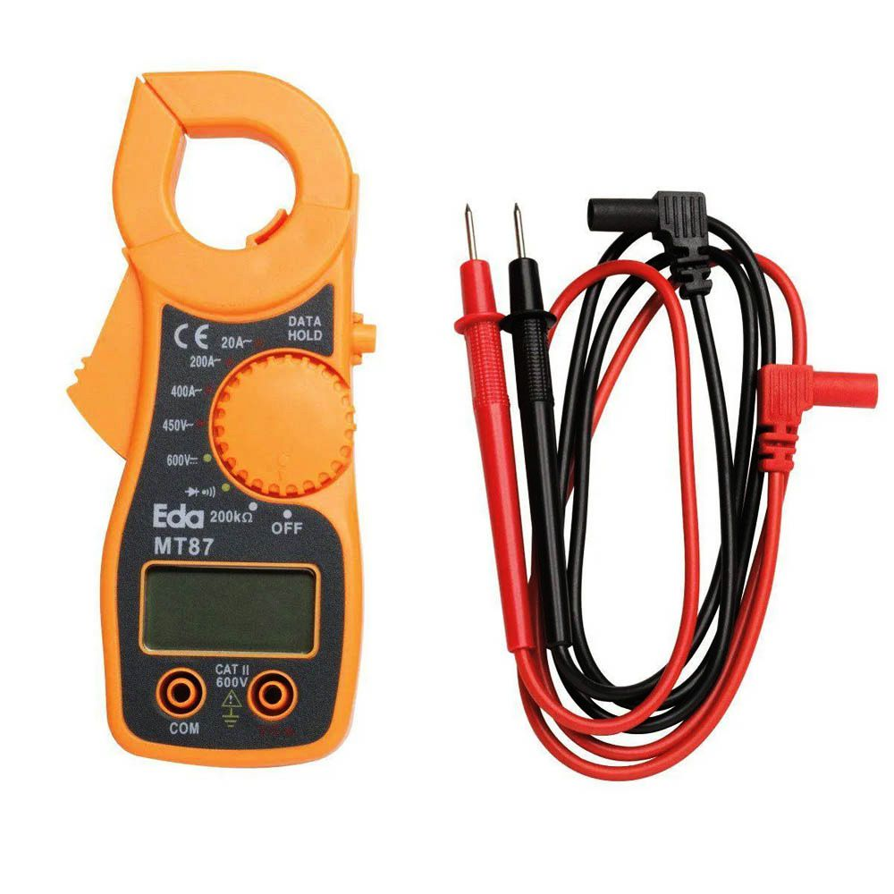 Alicate Amperímetro Digital MT87 (9KE) - EDA