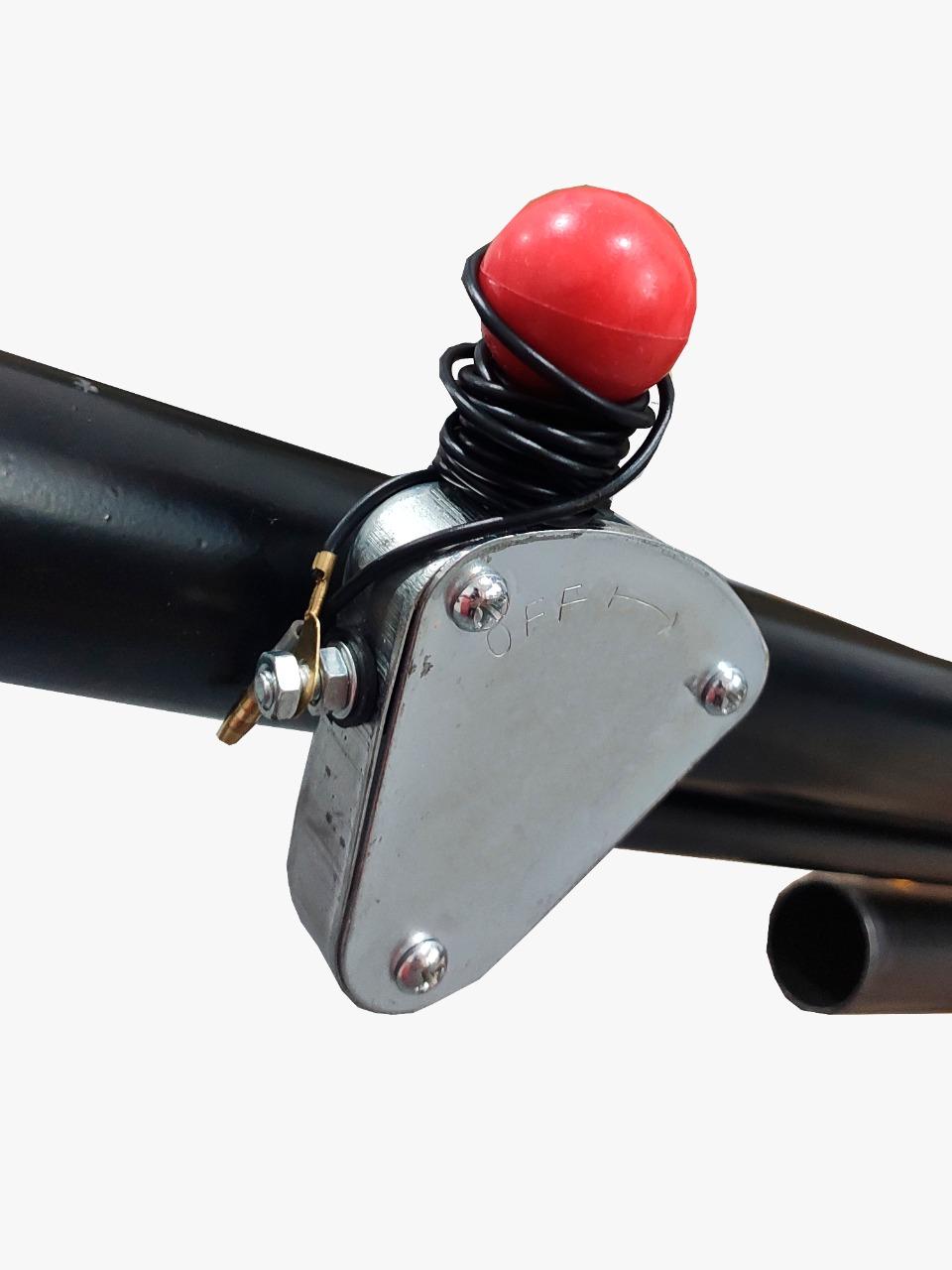 Alisadora de Piso Gasolina Refrigerado Ar 6,5HP