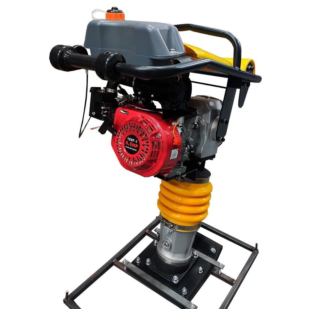 Compactador de Solo tipo Sapo Gasolina 6,5HP motor 4 tempos